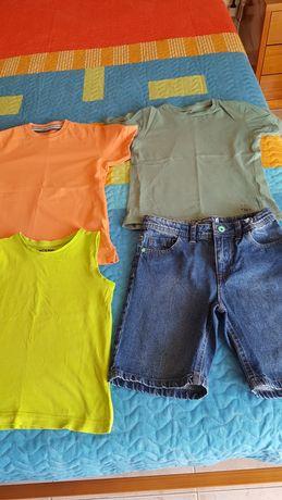 Conjunto de roupa para rapaz para 7anos