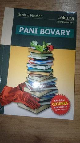 Pani Bovary-Gustwa Flaubert lektura z dokładnym opracowaneim