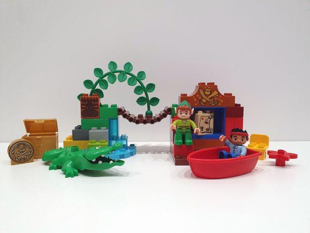 Lego DUPLO 10526 Jake odwiedziny Piotruś Pana, piraci, krokodyl, skarb