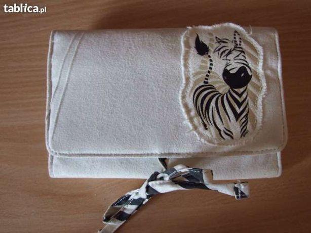 kosmetyczka zebra prezent