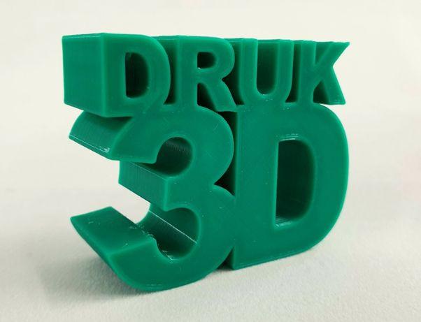 Druk 3D Drukowanie FDM SLA Prototypy PLA PET-G ABS ASA TPU Żywica