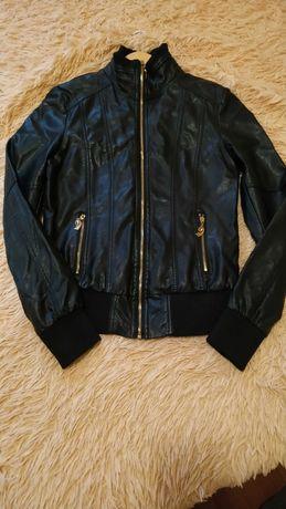 Куртка ветровка кожзам