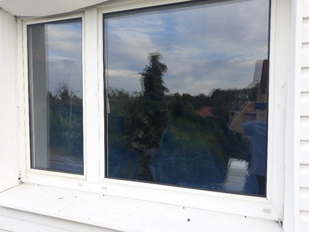 okna plastikowe PCV 4szt 2 prawe 2 lewe używane