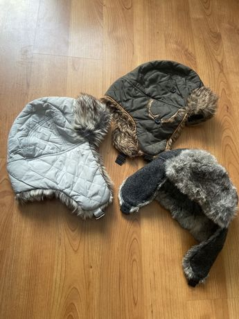 Шапка зимняя на 4-6 лет