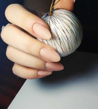 Маникюр, наращивание/ укрепление ногтей, гель-лак
