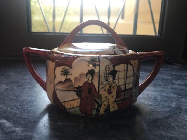 Vista Alegre - Açucareiro Motivo Asiático/Mandarim (Chinesa)