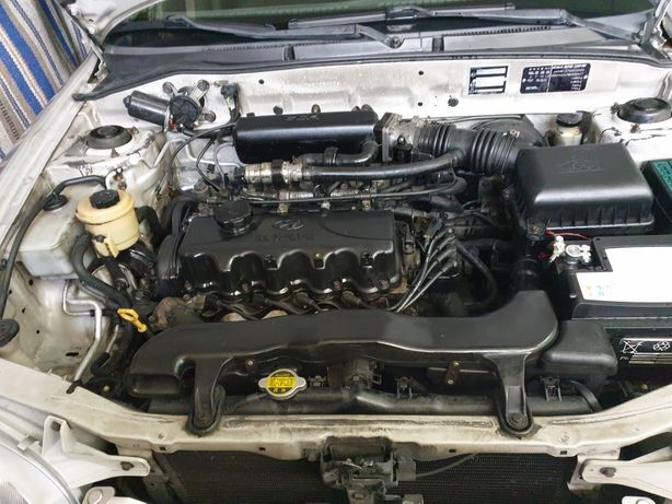 Motor hyundai accent de 1998 impecável