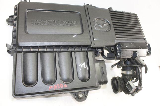 mazda 2 1.3 III pokrywa silnik komputer sterownik obudowa filtra 16V