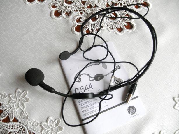 Mikrofon nagłowny AKG C 544 . Pojemnościowy .