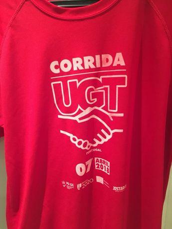 Vendo tshirt da corrida da UGT