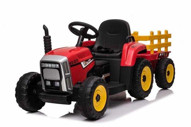 Traktor dla dzieci z Przyczepą i pilotem BLOW XMX-611