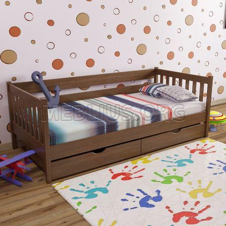 """Дитяче ліжко з масиву бука """"ДРІМ"""""""