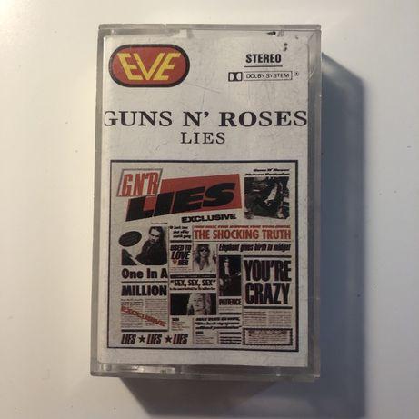 """Kaseta Audio Magnetofonowa Gun n' Roses - """"Lies"""""""