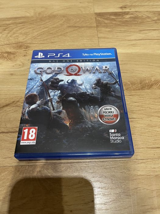 God of War , GoW 4, gra ps4, PlayStation 4, Ps5, PlayStation 5 Sochaczew - image 1