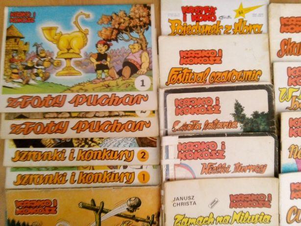 Kajko i Kokosz - kolekcja komiksów. Kajtek i Koko.