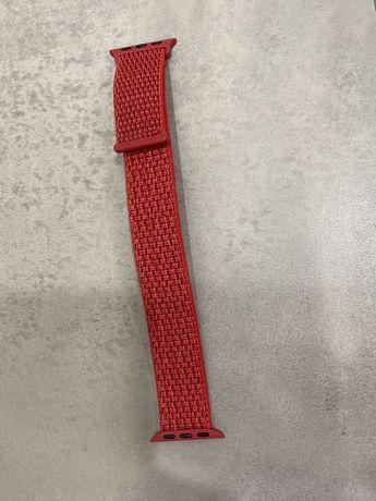 Ремешок красный для Apple Watch