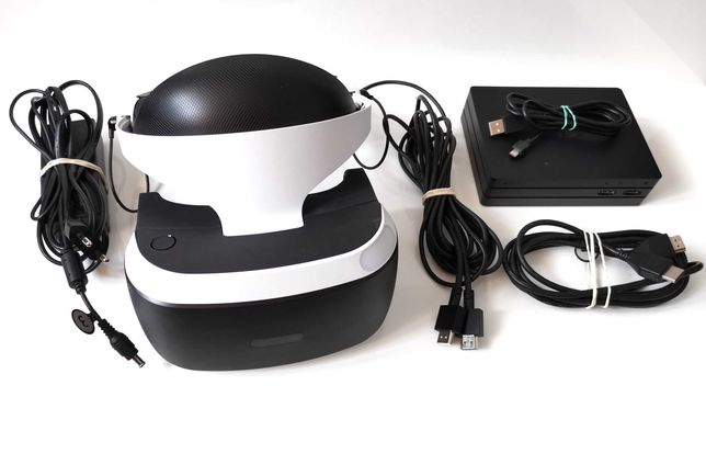 Okulary Gogle SONY VR PS4 V2 CUH-ZVR2 / Komplet
