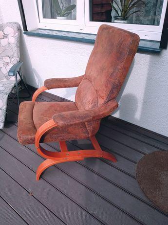 Fotel brazowy sprzedam