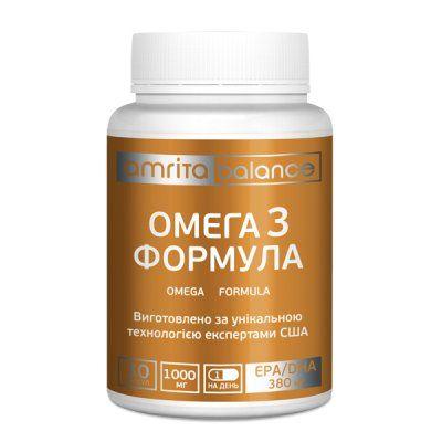 Диетическая харчевая добавка Омега 3 формула
