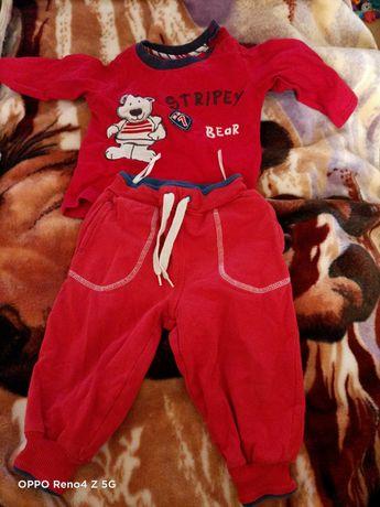 Ubranka dla chłopca 74r
