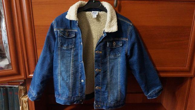 Джинсовая куртка мальчик демисезонная
