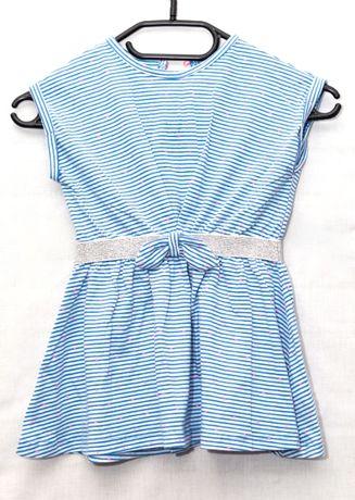 Sukienka dla dziewczynki rozm. 86 100% BAWEŁNA