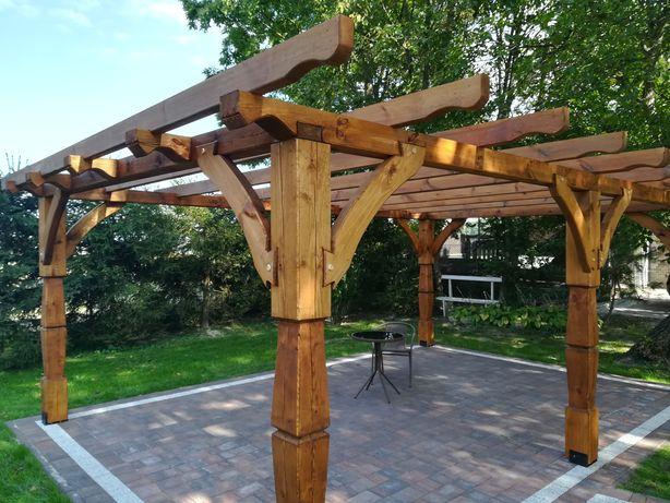 Pergola ogrodowa, zadaszenie tarasu