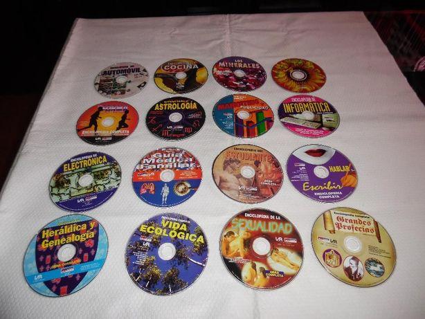 lote 16 enciclopédias digitais