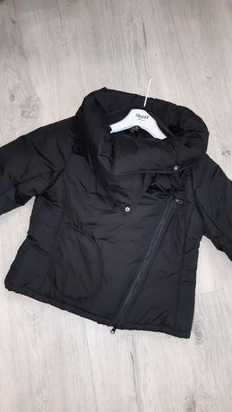 Куртка пуховик чёрный
