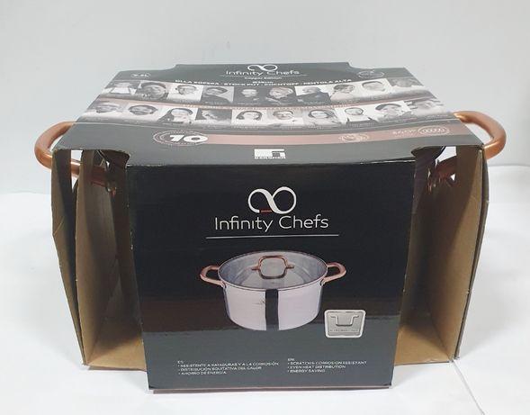 Garnek Infinity CHefs 9,5 L !! JAK NOWY !!