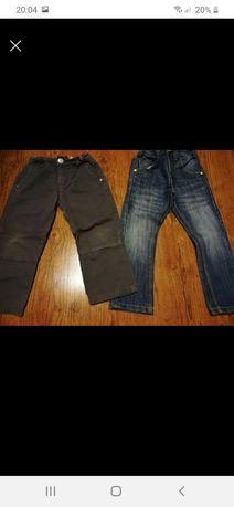 Sppdnie jeansy r.98