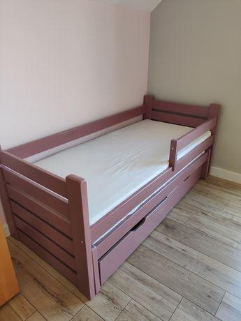 Łóżko dziecięce podwójne, młodzieżowe 188x87, szuflady