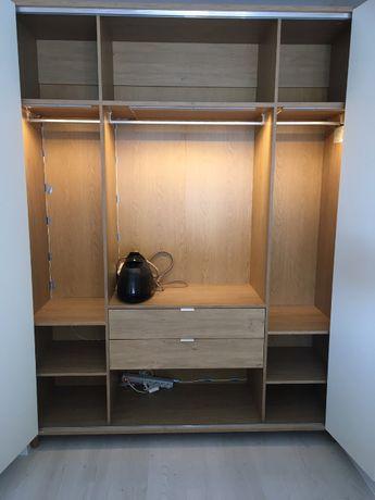 Szafa VOX Simple 4 drzwiowa z ośw. LED stan bdb Legnica