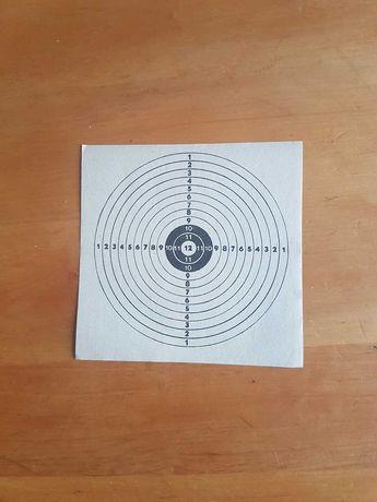 Papierowe tarcze strzelnicze
