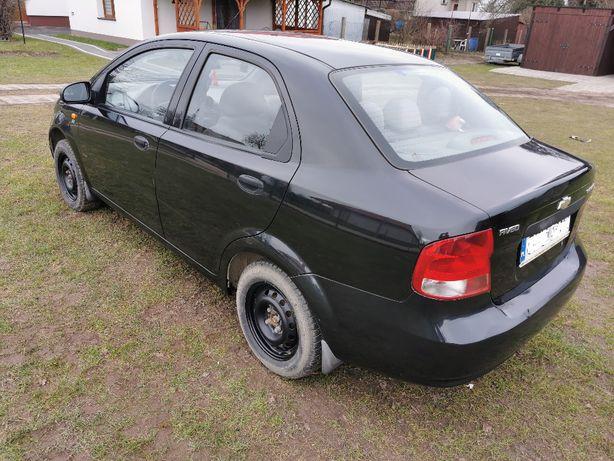 Chevrolet Aveo 2004r, benzyna + LPG, bezwypadkowy
