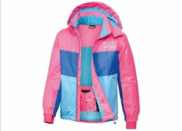 Куртка лыжная штаны костюм лыжный Crivit Pro перчатки для девочки
