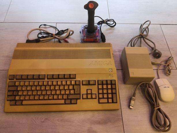 Amiga 500 (1 mb) Czerwona dioda.