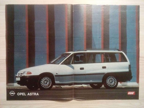 Plakat Poster Opel Astra GL Caravan 33,5cm x 47cm Samochody Auto Cars