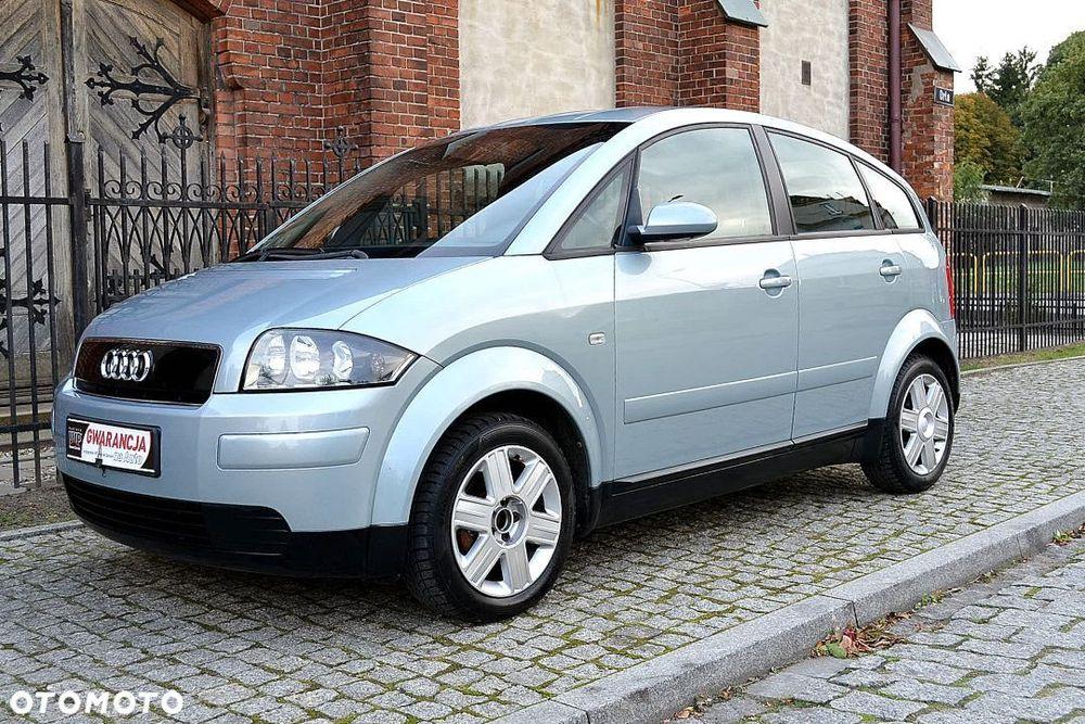 Audi A2 Sprawna Klimatyzacja, Nowe Tarcze I Zawieszenie Жаданы - изображение 1