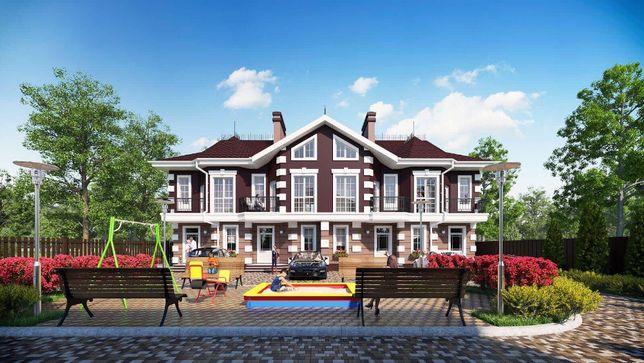 Дом таунхаус в центре Борисполя на 3 комнаты