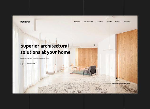 Web design, UI/UX design