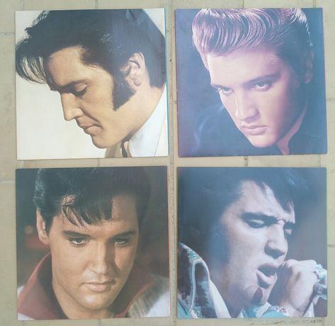 Coletânea de vinis do Elvis Presley, série rara e numerada