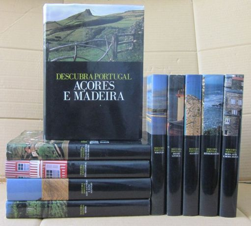 Descubra Portugal - Ediclube (10 Volumes)