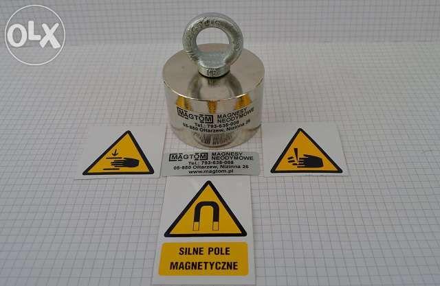 Magnes do poszukiwań UM 55x35 magnesy neodymowe