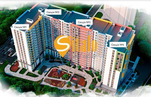 Продается 1-комнатная квартира в ЖК Акварель-8 (1 секция)
