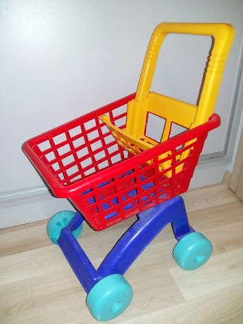 Koszyk zakupowy dla dzieci na zabawki
