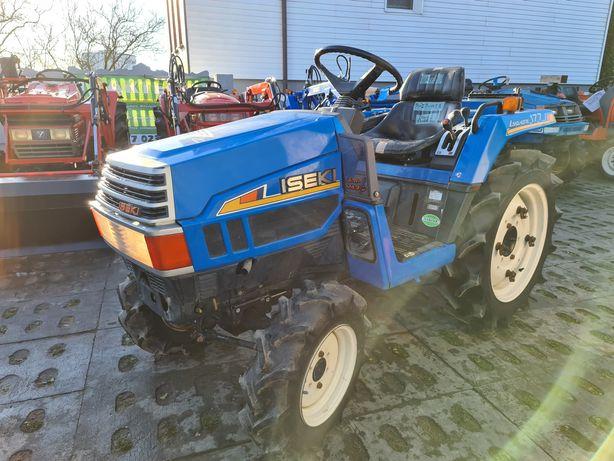 Mini traktor,ciągnik iseki, wspomaganie,oryginał
