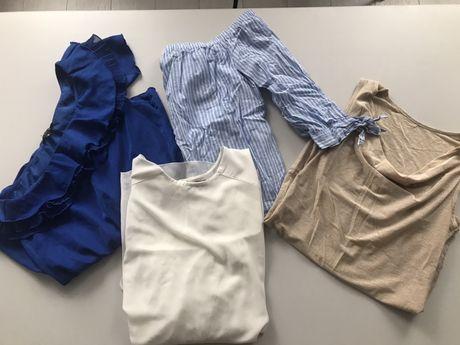 Zestaw bluzki koszule koszulki S