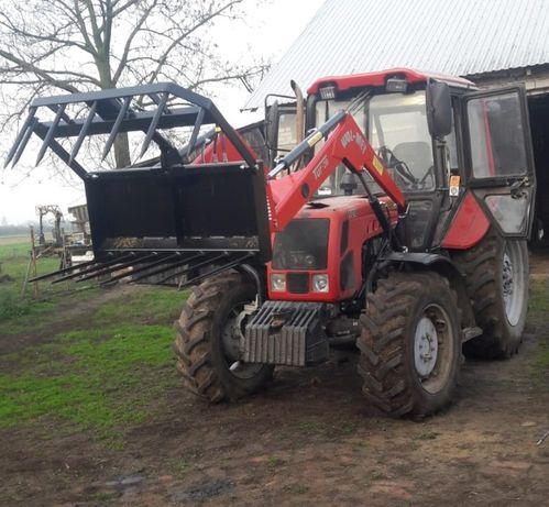 Ładowacz czołowy 912 MTZ Belarus 800kg c385 dowóz 902 montaż WOL-ME