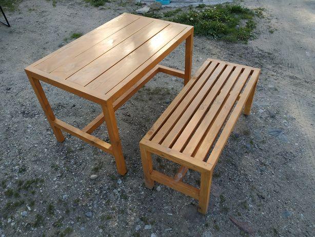 Zestaw ogrodowy. Stół+ławka